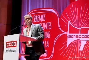 Entrevista a Unai Sordo, secretario general de Comisiones Obreras